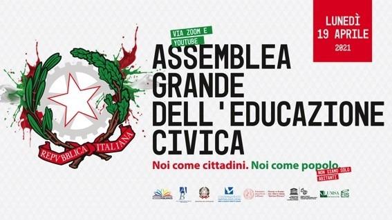 Assemblea Grande dell'Educazione Civica – lunedì 19 aprile 2021