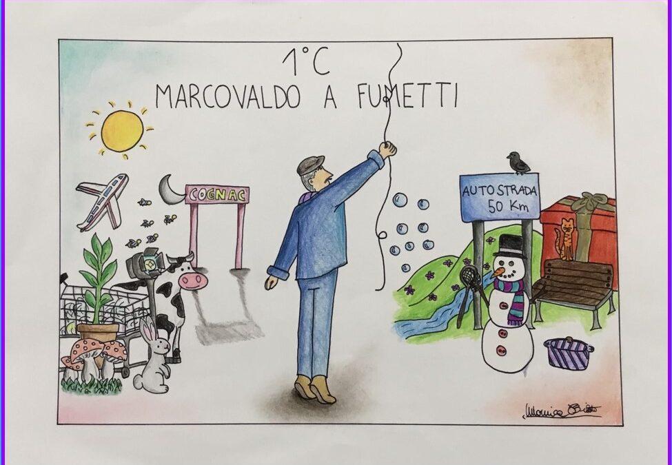 """""""Marcovaldo a fumetti"""" (fumetti realizzati dai ragazzi delle classi 1C e 2C della Scuola secondaria di primo grado)"""