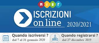 ISCRIZIONI ON LINE 2020/21